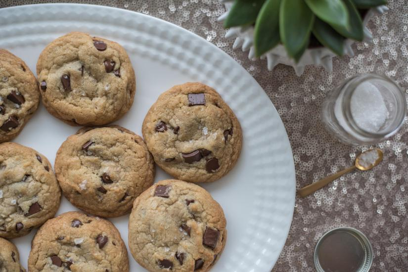 The Absolute Best Salted Brown Butter Chocolate Chip Cookie Ever